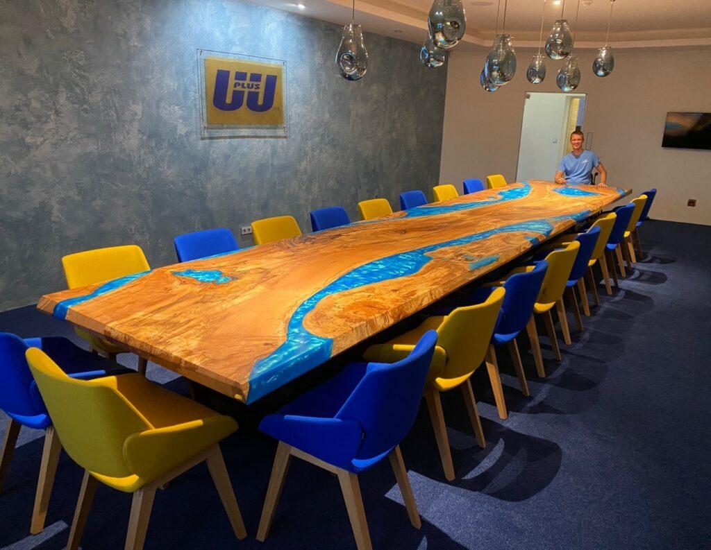 Hard Wood Art - konferenčný stôl z bukového dreva