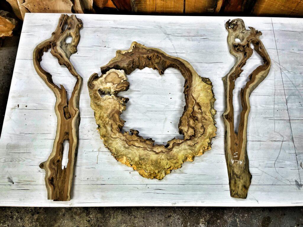 Amboyna exotické drevo